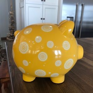 Yellow Piggy Bank